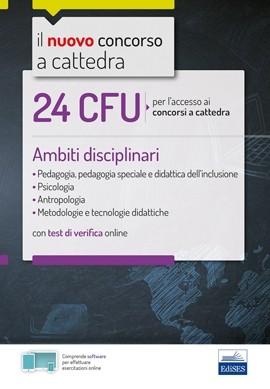24 CFU per l'accesso ai concorsi a cattedra