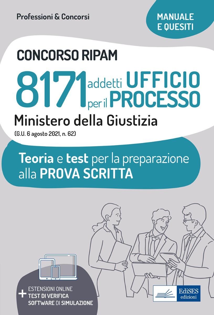 Concorso RIPAM 8171 addetti Ufficio per il Processo - Ministero della Giustizia