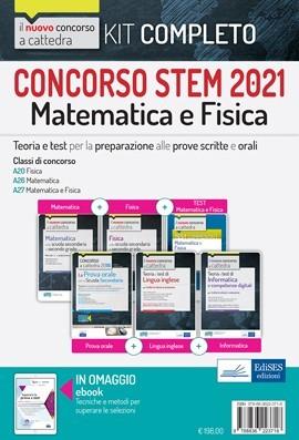 Concorso STEM 2021: Kit completo Matematica e Fisica