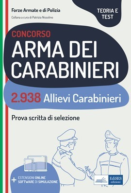 Manuale concorso 2.938 Allievi Carabinieri