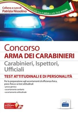 Concorso Arma dei Carabinieri - Test attitudinali e di personalità