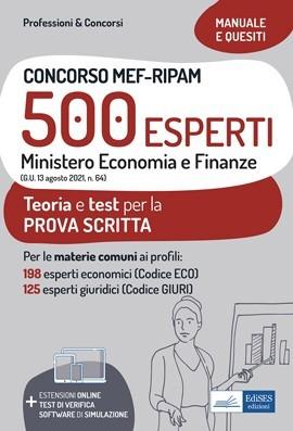 Concorso MEF-RIPAM 500 Esperti - Ministero Economia e Finanze