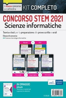 Concorso a cattedra STEM 2021: KIT Informatica (A41)