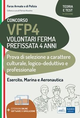 Concorso VFP4 Esercito, Marina e Aeronautica: manuale di teoria e test