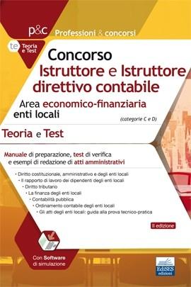 Istruttore e Istruttore direttivo contabile - Area economico-finanziaria enti locali