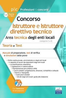 Istruttore tecnico e Istruttore direttivo tecnico negli Enti locali