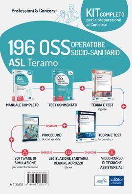 Kit concorso 196 OSS ASL Teramo