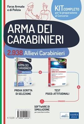 Kit Completo Concorso 2.938 Allievi Carabinieri
