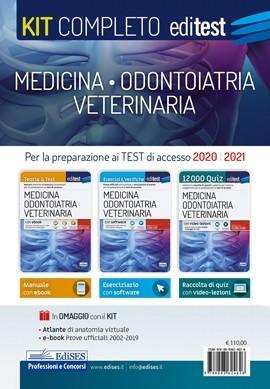 Kit completo Test Medicina, Odontoiatria...
