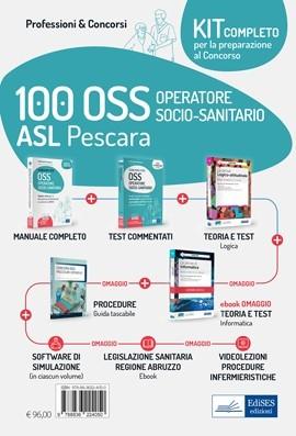 Kit concorso 100 OSS ASL Pescara