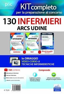 Kit concorso 130 Infermieri ARCS Udine