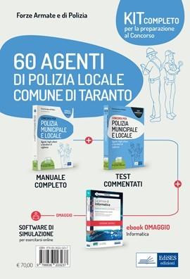 Kit Concorso 60 Agenti di Polizia locale Comune Taranto