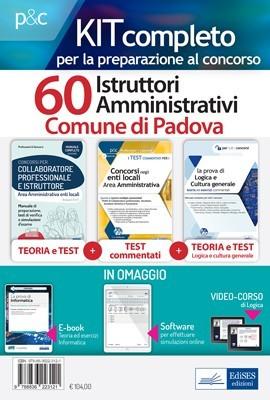 Kit Concorso 60 Istruttori Amministrativi Comune di Padova