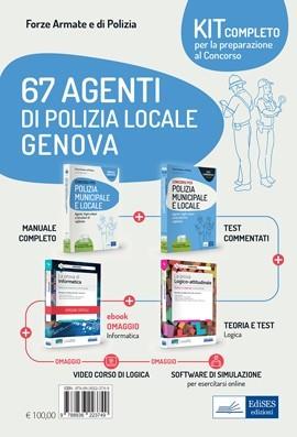 Kit Concorso 67 Agenti di Polizia Locale Genova