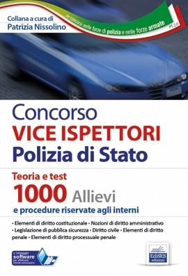 Concorso 1000 Vice Ispettori Polizia di Stato - Manuale