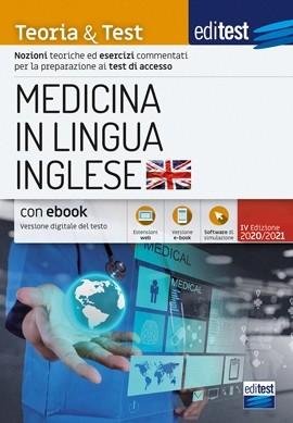 Test Medicina Inglese 2020: Manuale di t...
